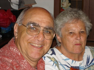 Angelo Bertucci e moglie