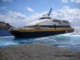 Possibile sospensione servizi ustica lines tutte le isole  dal 31 luglio