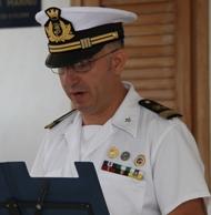 Discorso di Commiato – Capo 1^ Classe N.P. Diego BAIATA