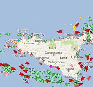 Traffico Marittimo in tempo reale
