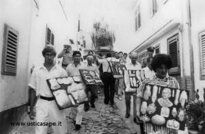 Processione San Bartolomeo per le vie del paese