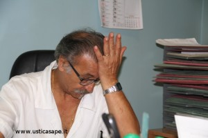 Spettacolo desolante nello studio del Responsabile del Presidio Sanitario di Ustica