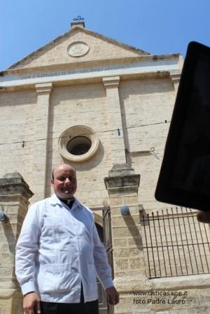 Padre Lauro da Cana: Una benedizione a tutti sull'Isola…