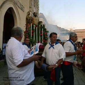San Bartolomeo Apostolo – Processione e fuochi visti da Stefano Guccione