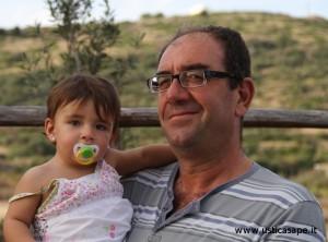 Zio con nipotina