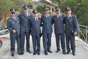 Saluto alla Brigata di Ustica della Guardia di Finanza