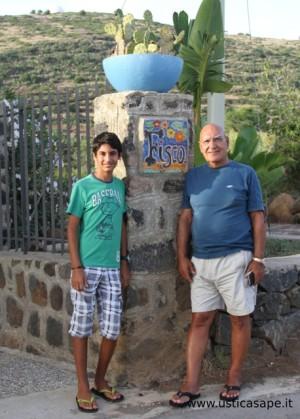 Nonno Sergio Fisco e nipote