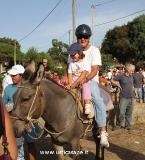 Ustica, San Bartolicchio – Promozione ed esibizione degli asinelli