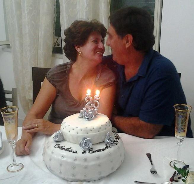 Auguri a Celestina e Emanuele Bertucci in occasione del 25° Anniversario di Matriminio