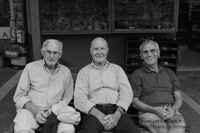 Tre pensionati – Vittorio, Mario, Pino