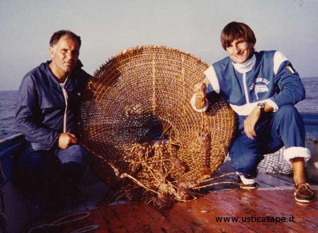 Michele Arnò fa buona pesca! – 10 aragoste in una sola nassa