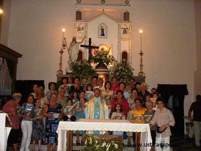 """Padre Alessandro con tutte le """"Marie"""""""