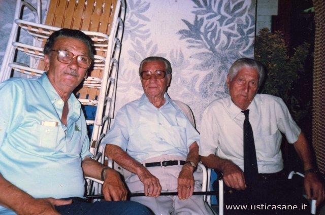 Pietro Petrossi, Armando Caserta, Francesco Bertucci