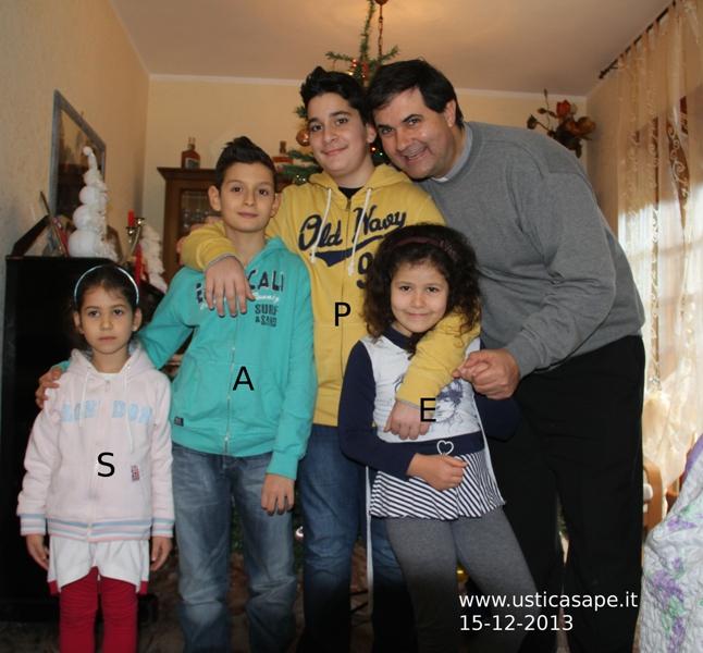 """Padre Andres Martinez a Velletri a pranzo con i S.A.P.E. ha detto: """"Il mio cuore è ad Ustica…"""""""