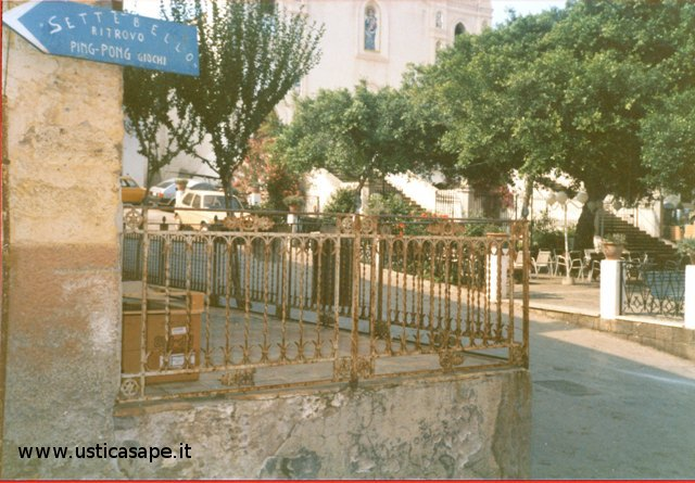 Ustica: Angolo di Via San Giacomo