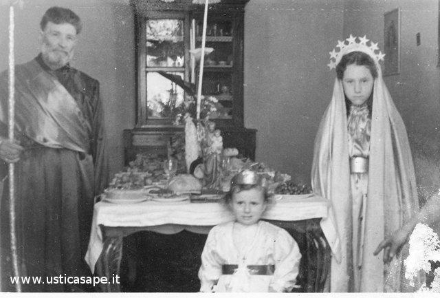 Rappresentazione della Sacra Famiglia
