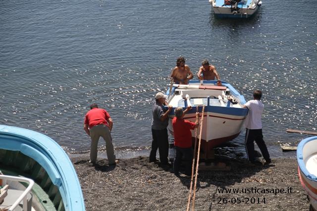 Dopo la sosta invernale la barca riprende il largo