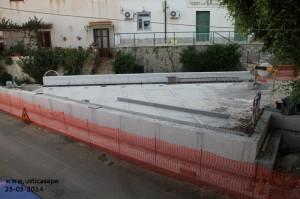 Ustica Riqualificazione Centro Urbano (Sic!) Piazza Armeria, Avanzamento lavori
