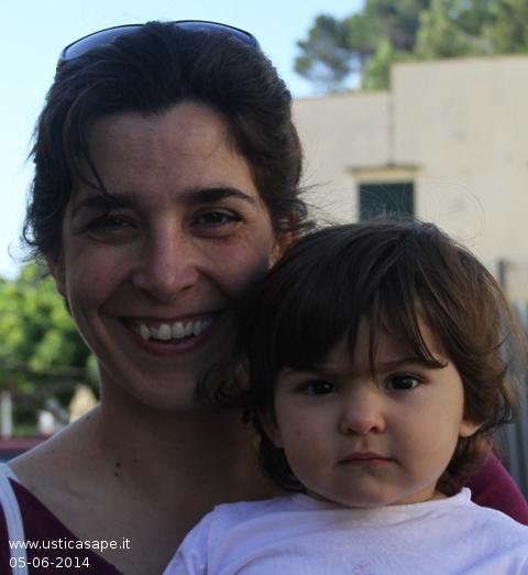 Margherita Longo e la piccola Gemma