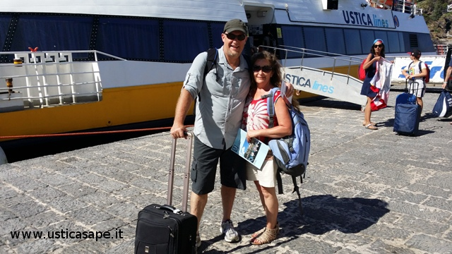 Partenza,  Jana e Greg Probst (