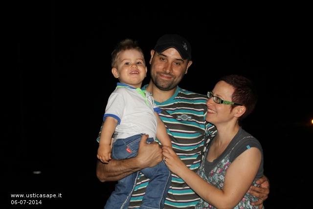 La Famiglia Fuccillo da Praga ad Ustica - Ustica?    un