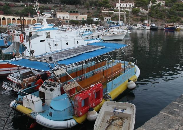 Tweety - barca con il fondo trasparente