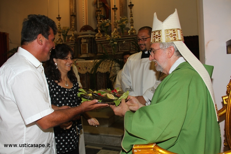 Santa Messa con le Reliquie di Giovanni Paolo II presieduta da Mons. Calogero Peri