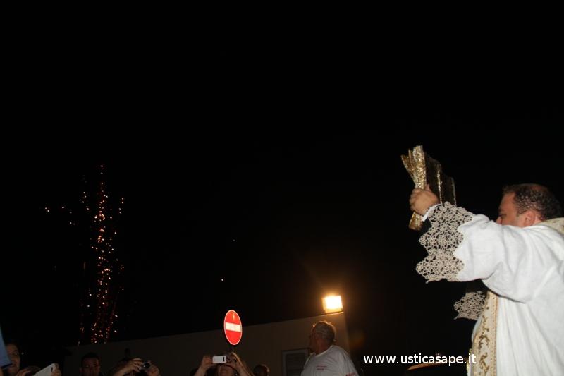 Ustica:  Accoglienza al porto Reliquie del Santo Giovanni Paolo II