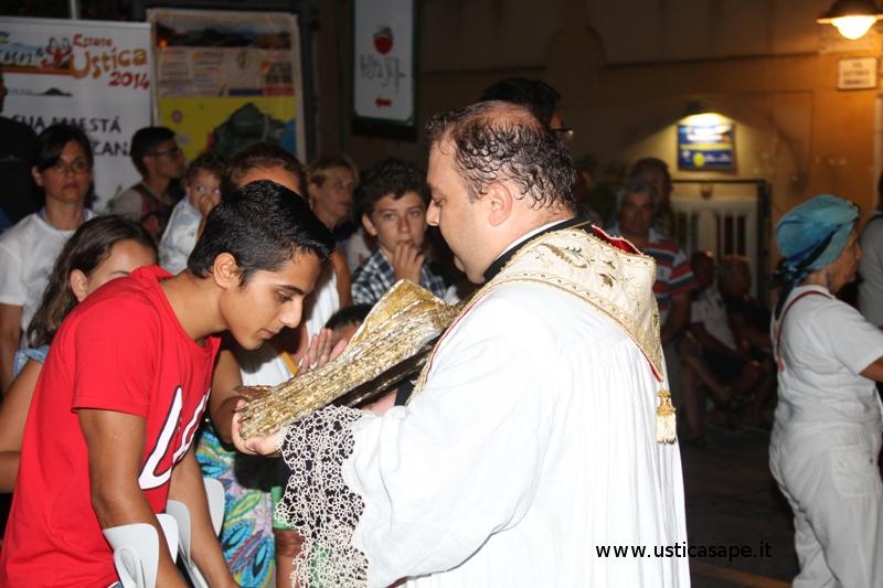 Santo Papa Giovanni Paolo II in processione