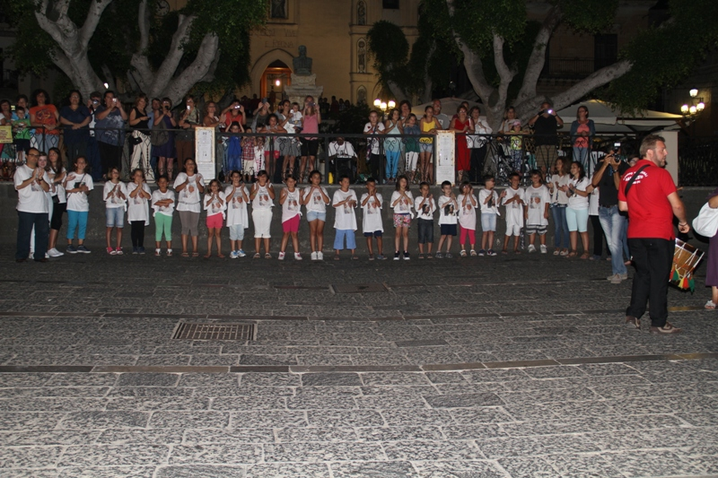 Accoglienza Reliquie Santo Papa Giovanni Paolo II in piazza