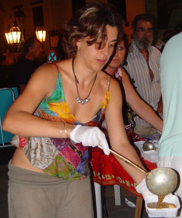 Offerta prodotti tipici usticesi 27-08-2010