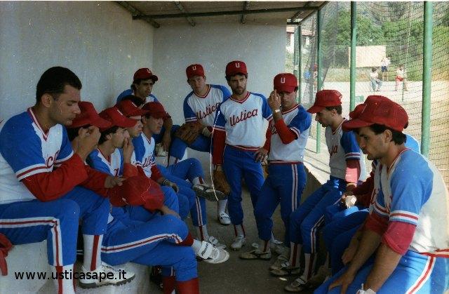 Ustica squadre di baseball