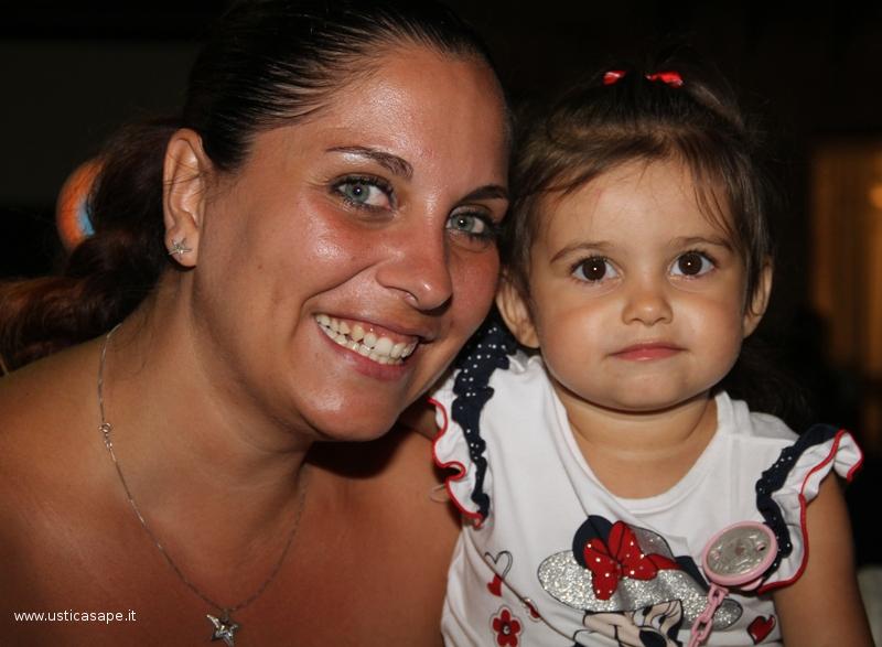 Ustica: Pamela e la figlia Aurora