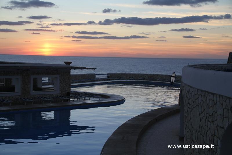 Una serata  all'hotel Punta Spalmatore