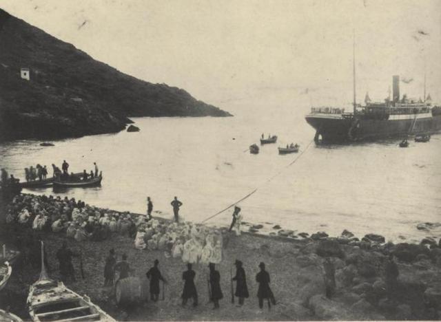 Arrivo prigionieri Arabi 1911