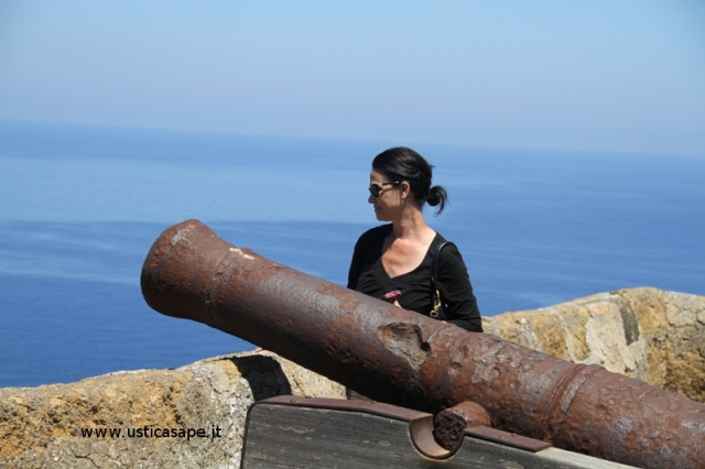 A guardia del forte  della Falconiera