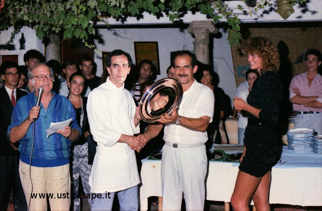 Arte culinaria - premio al cuoco