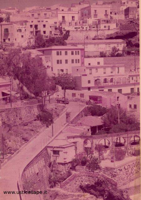 Ustica vista da Cala Santa Maria