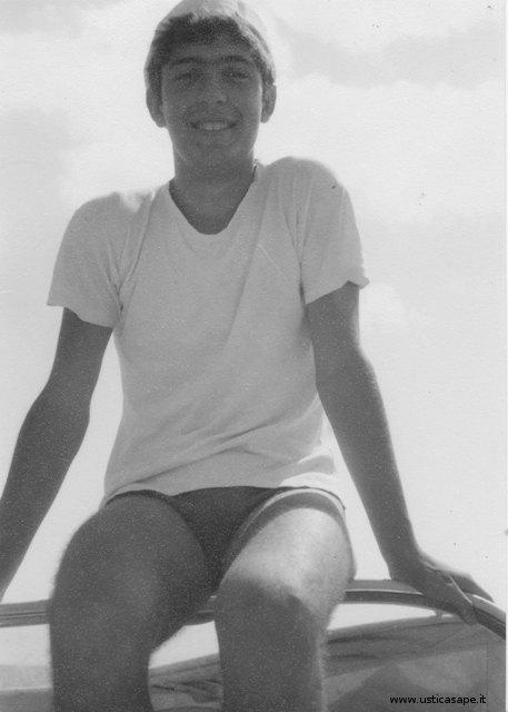 Il giovane e bravo Franco Tranchina