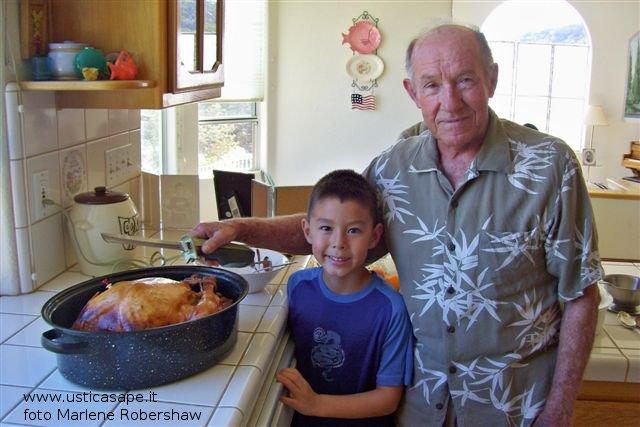 Thanksgiving In casa Robershaw ,