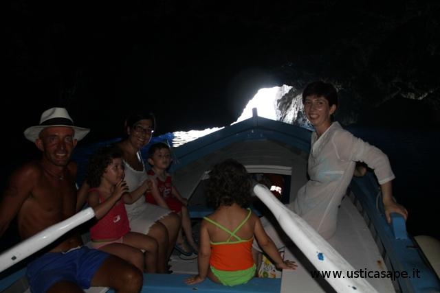 Gita in barca con Peppe