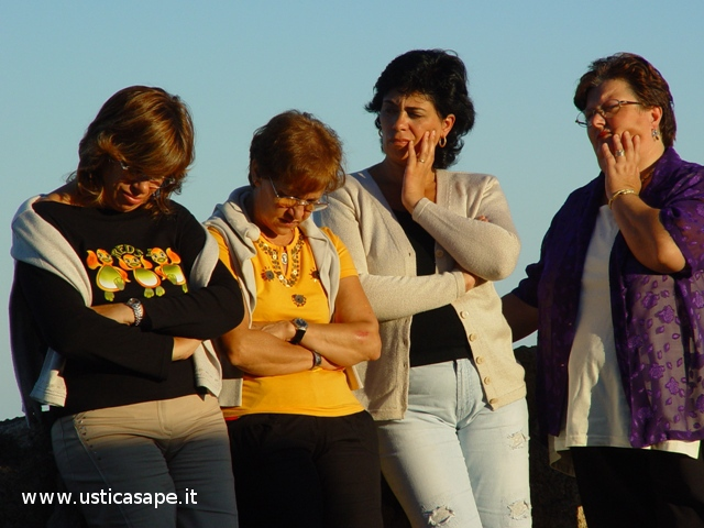 alla Falconiera in preghiera