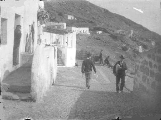 Strada che portava al porto