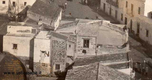 Particolare case centro storico