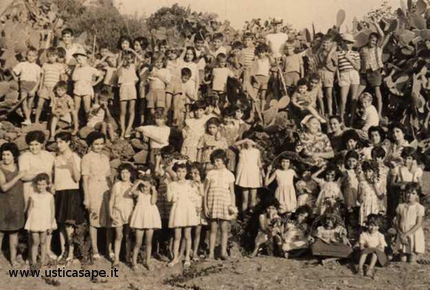 ragazzi e ragazze dell'azione Cattolica  18.10.1961