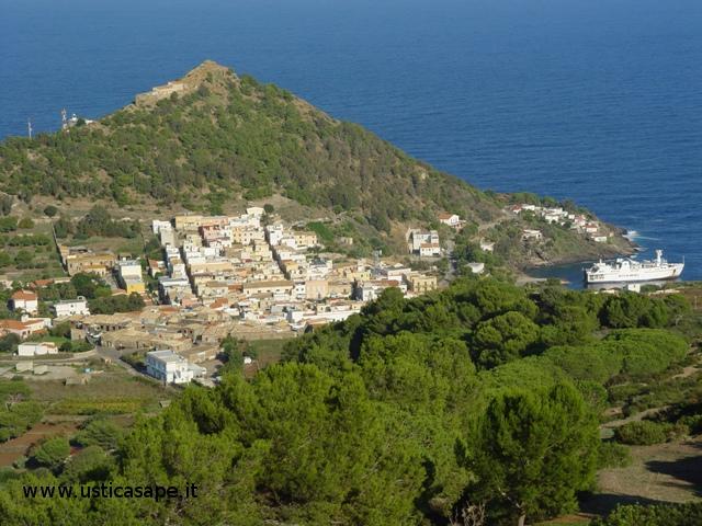 Ustica Panorama dalla montagna