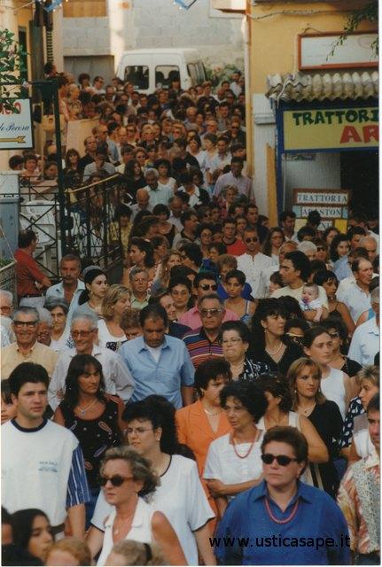 Partecipanti processione San Bartolomeo