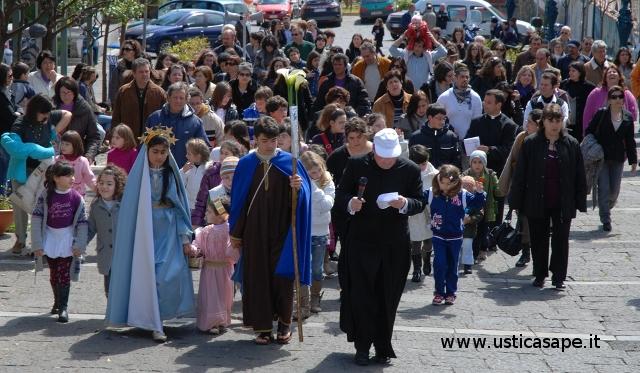 Ustica, San Giuseppe, Processione,