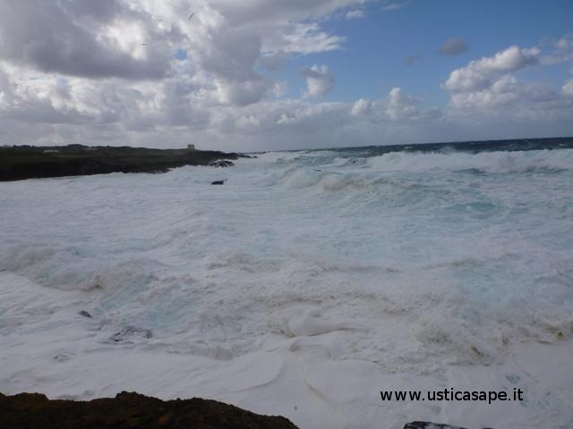 Mare molto mosso allo Spalmatore
