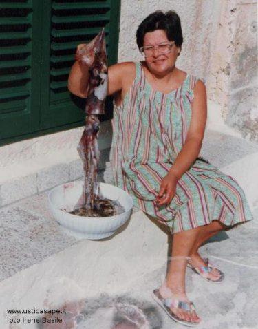Irene Basile mostra un totano
